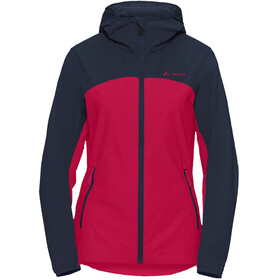 VAUDE Moab Jacket III Women crimson red